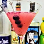 blueberry lemon drop martini