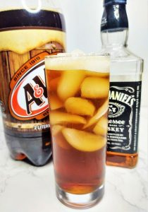 whiskey and root beer