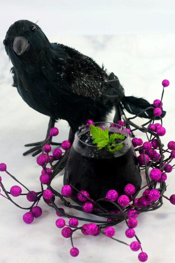 Dark Black Raven COcktail