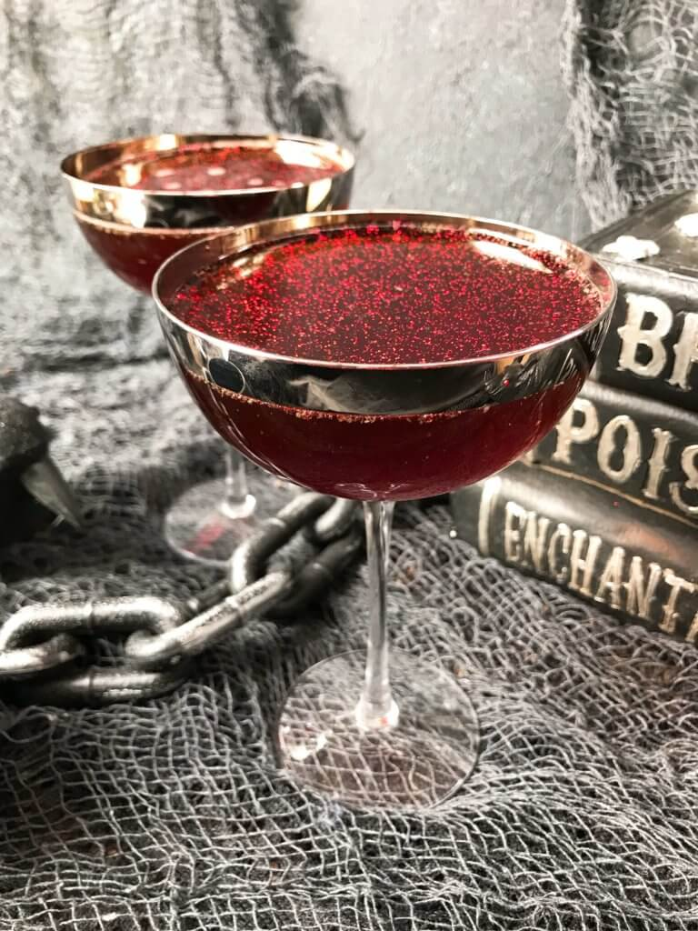 Stormy Hallows Eve Rum Cocktail