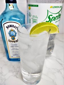 Gin and Sprite Cocktail Recipe