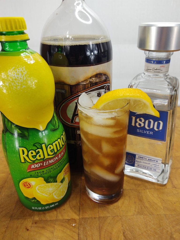 root beer and tequila