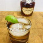 Cognac and coke