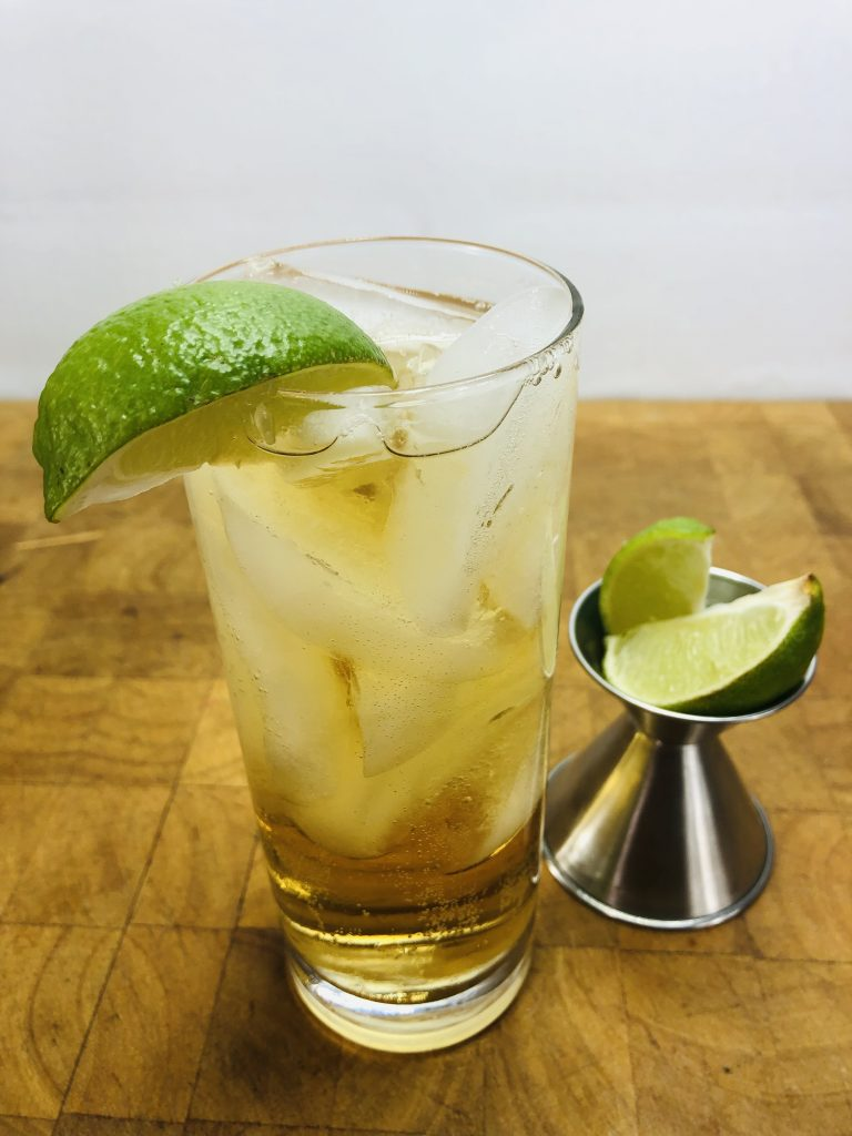 Cognac and ginger ale